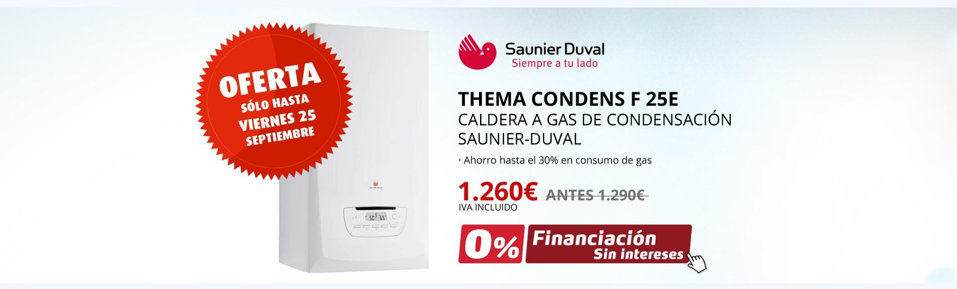 Caldera Gas Condensacion Thema Condens Saunier Duval Oferta