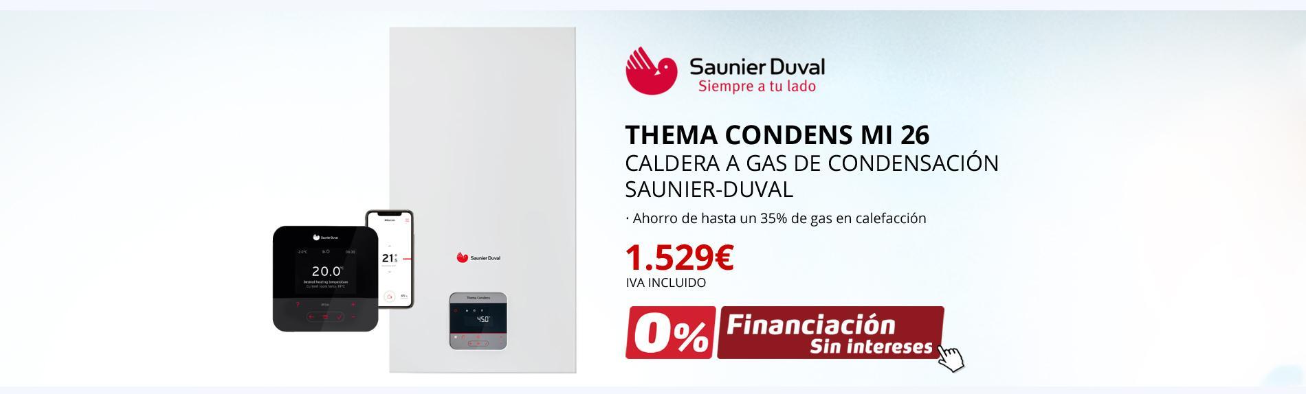 Thema Condens Mi 26 - Caldera a gas de condensación Saunier Duval
