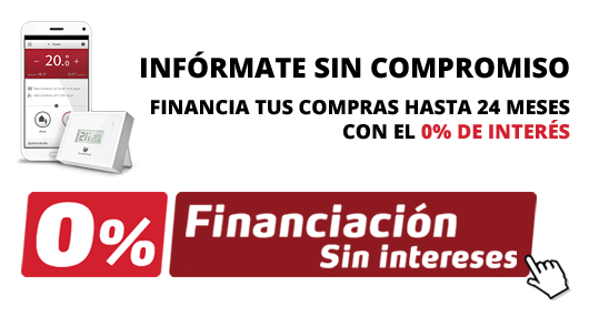 Calderas Castilla - Madrid Financiación 0% sin intereses