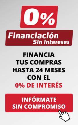 Financiación 0% sin interés 24 meses