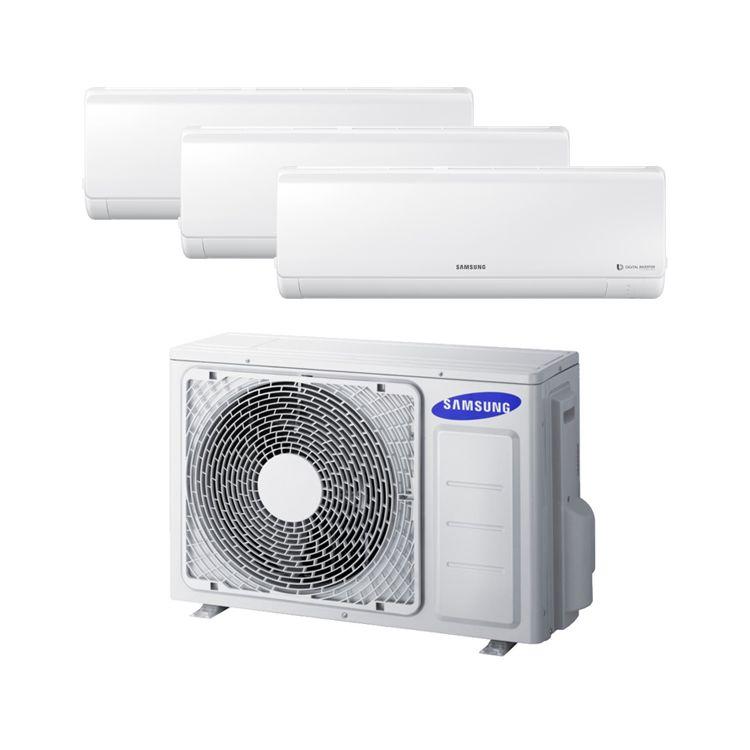 Conjunto 3x1 AJ052FCJ3EH/EU+AR07KSFP+AR07KSFP+AR12KSFP - Aire acondicionado Multi Split Samsung