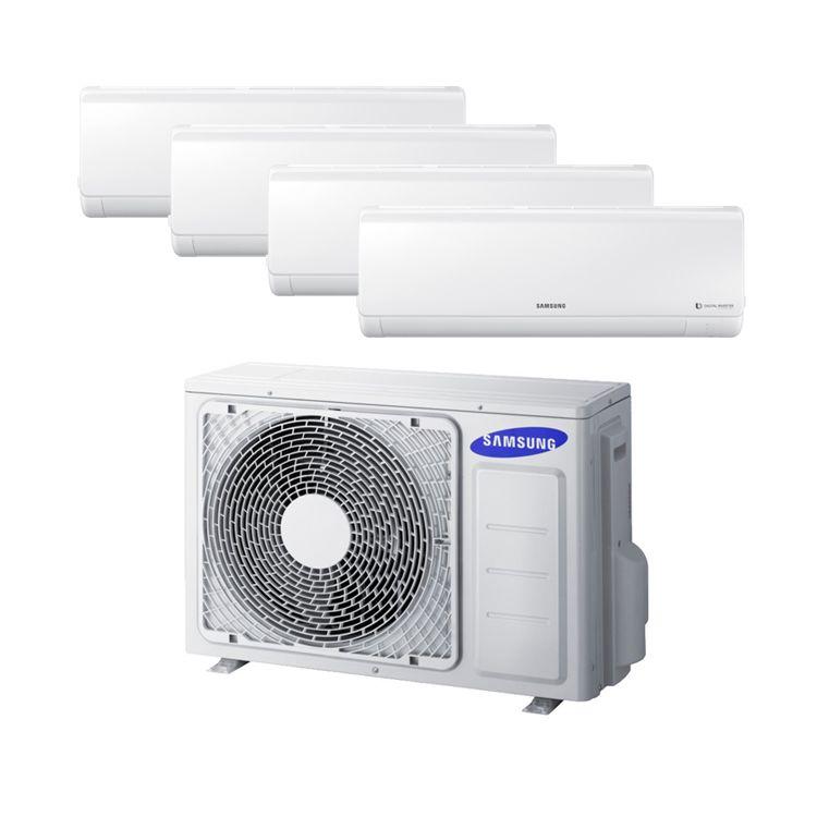 Conjunto 4x1 AJ071FCJ4EH/EU+AR07KSFP+AR09KSFP+AR09KSFP+AR12KSFP - Aire acondicionado Multi Split Samsung