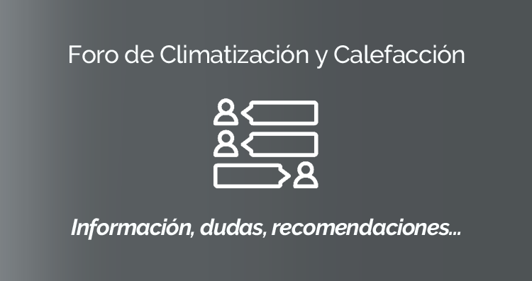 Estrenamos Foro de Climatización y Calefacción