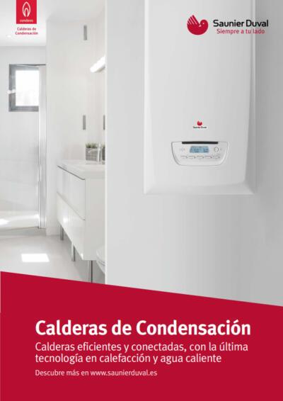 Catálogo comercial - CALDERA A GAS DE CONDENSACIÓN SAUNIER-DUVAL THEMA CONDENS F 25