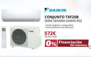Aire Acondicionado DAIKIN TXF25B
