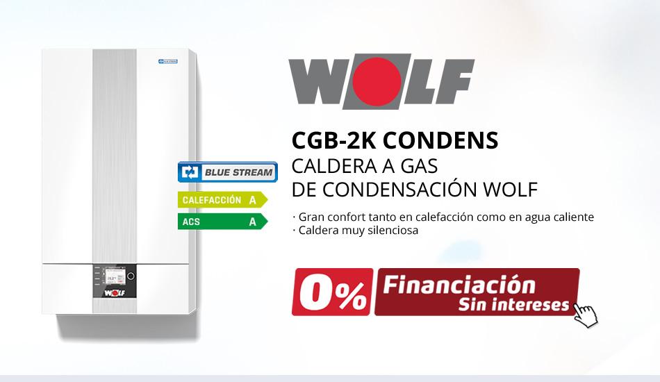 Caldera de gas WOLF CGB-2K CONDENS 24 KW