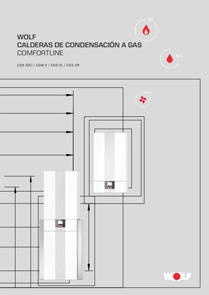 CGB-2K CONDENS - CALDERA A GAS DE CONDENSACIÓN WOLF