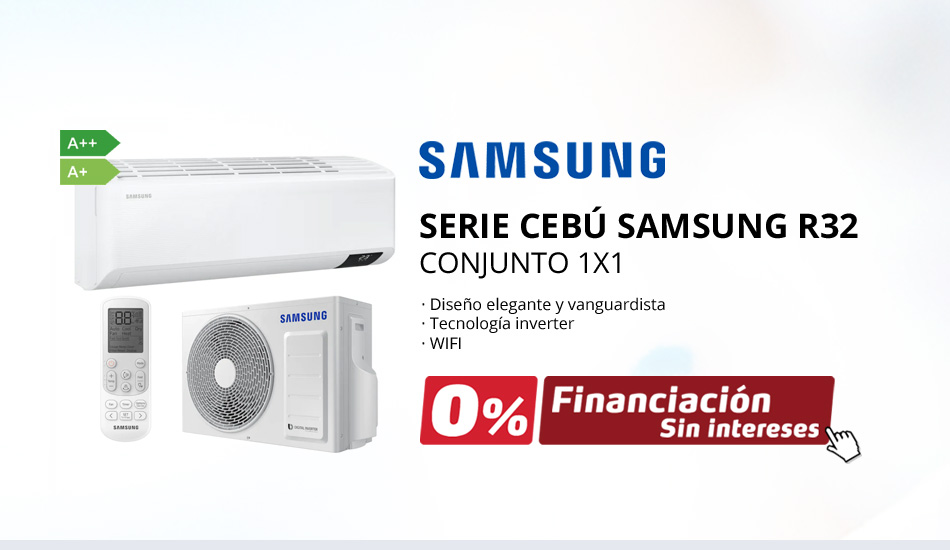 Aire Acondicionado Split Samsung Serie Cebú