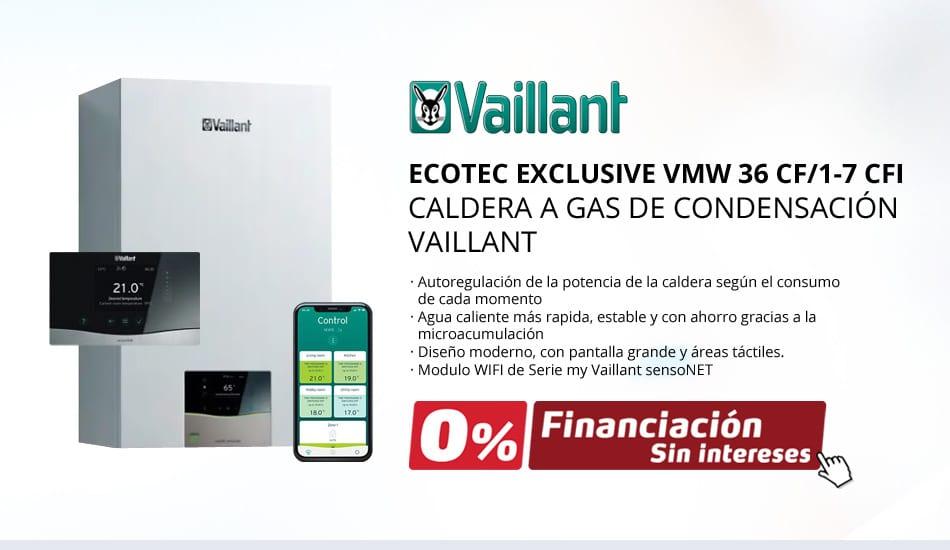 Nuevas Calderas Vaillant ECOTEC EXCLUSIVE VMW